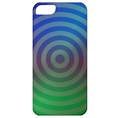 Blue Green Abstract Background Apple Iphone 5 Classic Hardshell Case