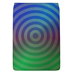 Blue Green Abstract Background Flap Covers (s)  by Nexatart