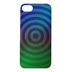 Blue Green Abstract Background Apple Iphone 5s/ Se Hardshell Case