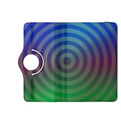 Blue Green Abstract Background Kindle Fire Hdx 8 9  Flip 360 Case by Nexatart