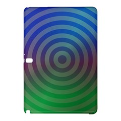 Blue Green Abstract Background Samsung Galaxy Tab Pro 12 2 Hardshell Case by Nexatart