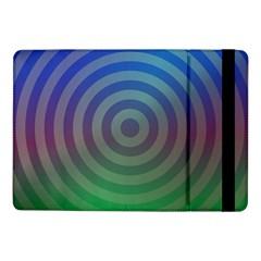 Blue Green Abstract Background Samsung Galaxy Tab Pro 10 1  Flip Case by Nexatart