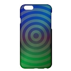 Blue Green Abstract Background Apple Iphone 6 Plus/6s Plus Hardshell Case by Nexatart