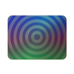 Blue Green Abstract Background Double Sided Flano Blanket (mini)
