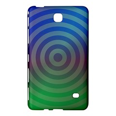 Blue Green Abstract Background Samsung Galaxy Tab 4 (7 ) Hardshell Case  by Nexatart