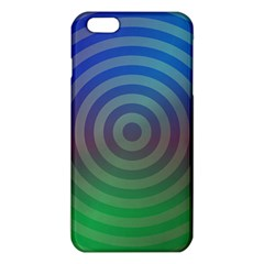 Blue Green Abstract Background Iphone 6 Plus/6s Plus Tpu Case