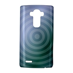 Teal Background Concentric Lg G4 Hardshell Case by Nexatart
