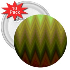 Zig Zag Chevron Classic Pattern 3  Buttons (10 Pack)  by Nexatart