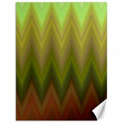 Zig Zag Chevron Classic Pattern Canvas 12  X 16