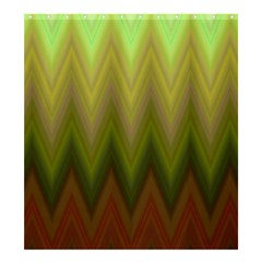 Zig Zag Chevron Classic Pattern Shower Curtain 66  X 72  (large)  by Nexatart