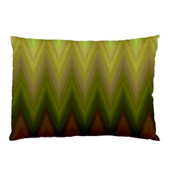 Zig Zag Chevron Classic Pattern Pillow Case (two Sides)
