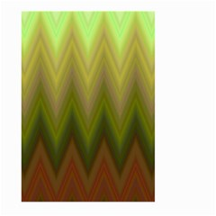 Zig Zag Chevron Classic Pattern Large Garden Flag (two Sides) by Nexatart