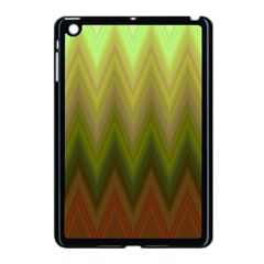 Zig Zag Chevron Classic Pattern Apple Ipad Mini Case (black)