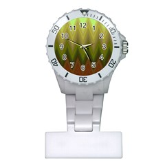 Zig Zag Chevron Classic Pattern Plastic Nurses Watch