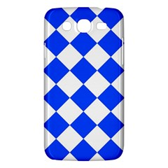 Blue White Diamonds Seamless Samsung Galaxy Mega 5 8 I9152 Hardshell Case