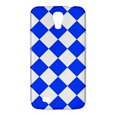 Blue White Diamonds Seamless Samsung Galaxy Mega 6 3  I9200 Hardshell Case by Nexatart