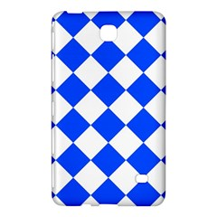 Blue White Diamonds Seamless Samsung Galaxy Tab 4 (8 ) Hardshell Case