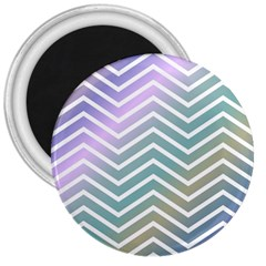 Zigzag Line Pattern Zig Zag 3  Magnets