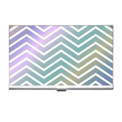Zigzag Line Pattern Zig Zag Business Card Holders
