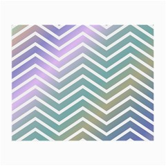 Zigzag Line Pattern Zig Zag Small Glasses Cloth (2 Side)