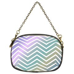 Zigzag Line Pattern Zig Zag Chain Purses (one Side)