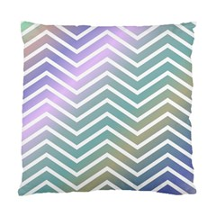 Zigzag Line Pattern Zig Zag Standard Cushion Case (two Sides) by Nexatart