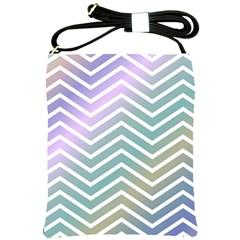 Zigzag Line Pattern Zig Zag Shoulder Sling Bags