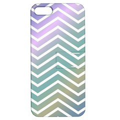 Zigzag Line Pattern Zig Zag Apple Iphone 5 Hardshell Case With Stand