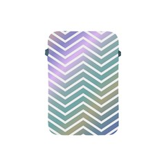 Zigzag Line Pattern Zig Zag Apple Ipad Mini Protective Soft Cases by Nexatart