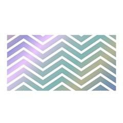 Zigzag Line Pattern Zig Zag Satin Wrap
