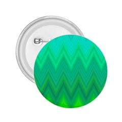 Green Zig Zag Chevron Classic Pattern 2 25  Buttons