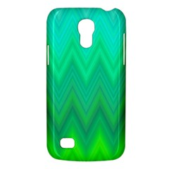 Green Zig Zag Chevron Classic Pattern Galaxy S4 Mini