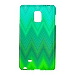 Green Zig Zag Chevron Classic Pattern Galaxy Note Edge