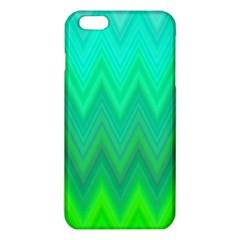 Green Zig Zag Chevron Classic Pattern Iphone 6 Plus/6s Plus Tpu Case