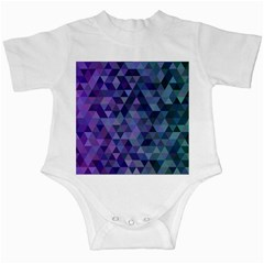 Triangle Tile Mosaic Pattern Infant Creepers