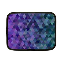 Triangle Tile Mosaic Pattern Netbook Case (small)  by Nexatart