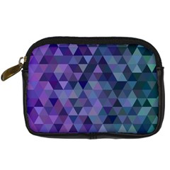 Triangle Tile Mosaic Pattern Digital Camera Cases by Nexatart