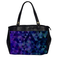 Triangle Tile Mosaic Pattern Office Handbags by Nexatart