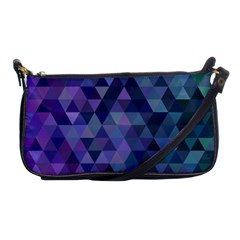 Triangle Tile Mosaic Pattern Shoulder Clutch Bags by Nexatart