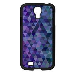 Triangle Tile Mosaic Pattern Samsung Galaxy S4 I9500/ I9505 Case (black)