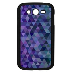 Triangle Tile Mosaic Pattern Samsung Galaxy Grand Duos I9082 Case (black)