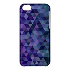 Triangle Tile Mosaic Pattern Apple Iphone 5c Hardshell Case by Nexatart