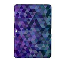 Triangle Tile Mosaic Pattern Samsung Galaxy Tab 2 (10 1 ) P5100 Hardshell Case