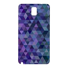 Triangle Tile Mosaic Pattern Samsung Galaxy Note 3 N9005 Hardshell Back Case