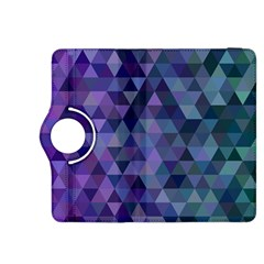 Triangle Tile Mosaic Pattern Kindle Fire Hdx 8 9  Flip 360 Case by Nexatart