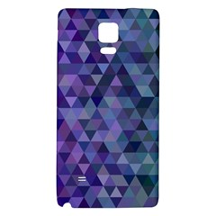Triangle Tile Mosaic Pattern Galaxy Note 4 Back Case