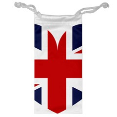 Uk Flag United Kingdom Jewelry Bag by Nexatart