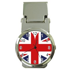 Uk Flag United Kingdom Money Clip Watches
