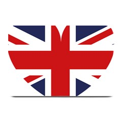 Uk Flag United Kingdom Plate Mats