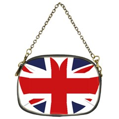 Uk Flag United Kingdom Chain Purses (one Side)